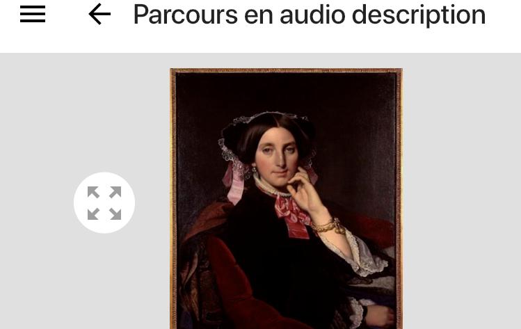 Audiodescription, Réouverture du musée Ingres, Montauban