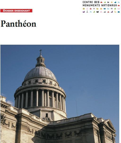 Dossier pedago pantheon