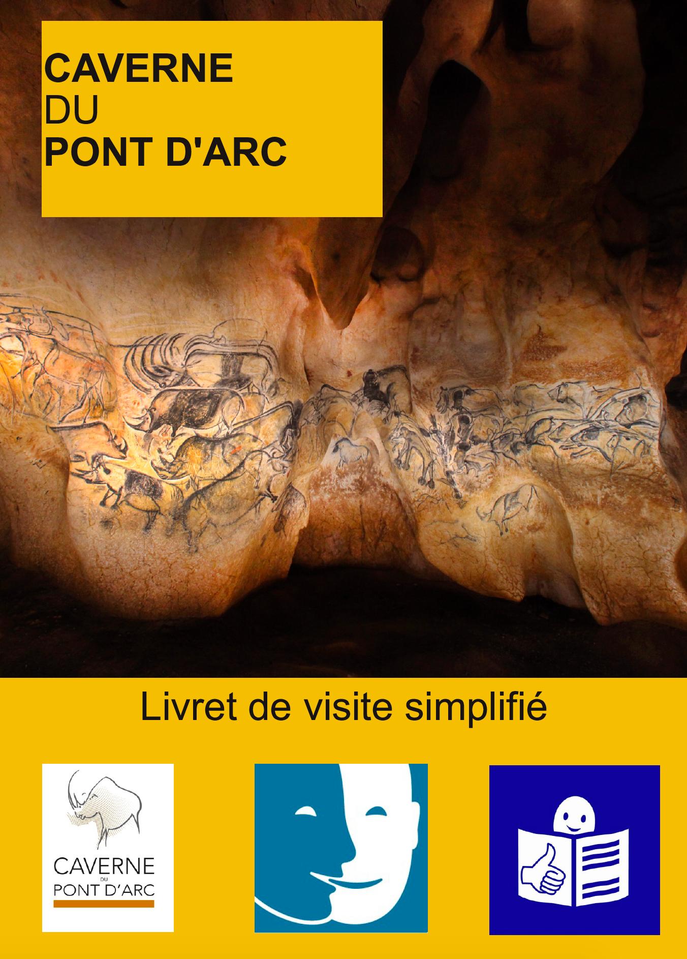 Livret de visite en FALC, Caverne du Pont d'Arc Grotte Chauvet